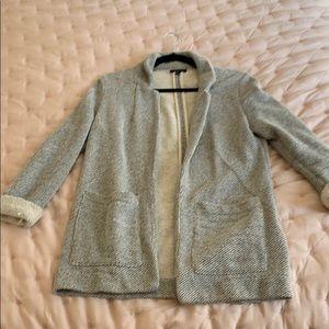 Topshop knit blazer